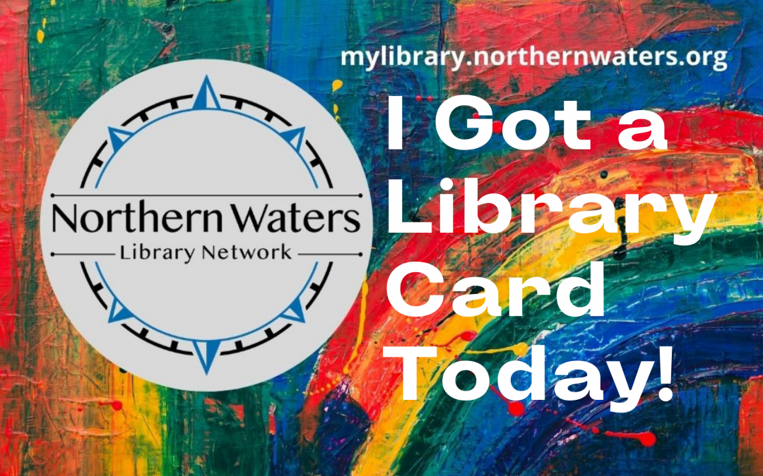 September is Library Card Sign Up Month